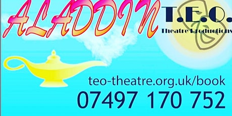 ALADDIN Family Pantomime tickets