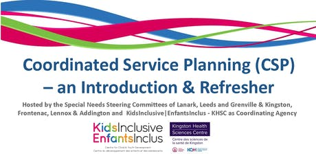 Coordinated Service Planning - An Introduction & Refresher tickets