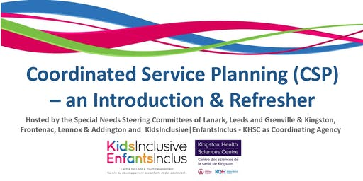 Coordinated Service Planning - An Introduction & Refresher