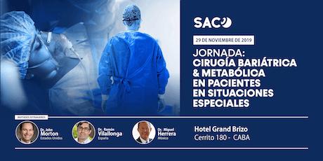 Cirugía Bariátrica & Metabólica en pacientes en situaciones especiales entradas