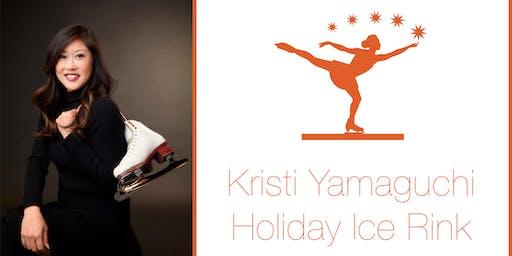 Kristi Yamaguchi Holiday Ice Rink Opening Celebration