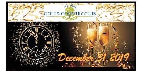 New Years Eve - Dinner and Live Entertainment  tickets