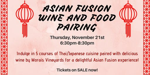 Aroma Wine Tasting Asian Fusion Wine and Food Pairing
