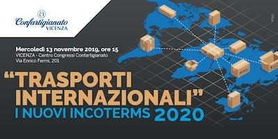 TRASPORTI INTERNAZIONALI - INCOTERMS 2020