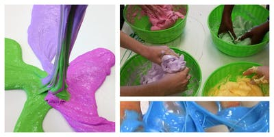 SPECIAL OFFER- 50% OFF! Insane Slime Workshop (5-12 Years)