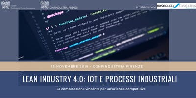 Lean Industry 4.0: IOT e processi industriali