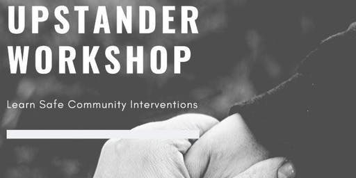UPstander Workshop for Womxn of Color