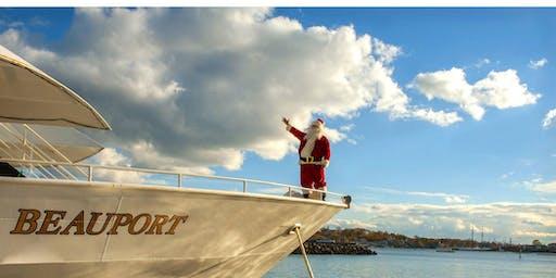 Santa at Sea