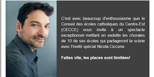 Les chorales du CECCE chantent avec Nicola Ciccone