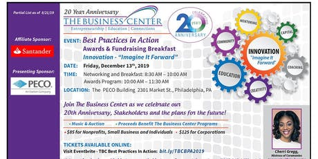 2019 TBC Best Practices in Action Awards and Fundraising Breakfast tickets