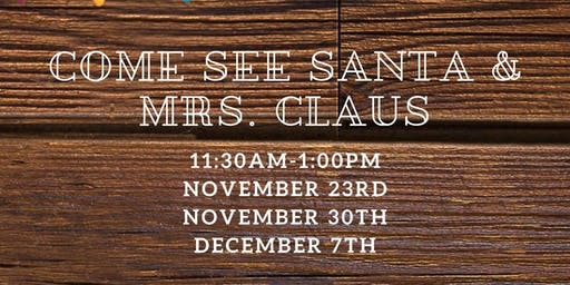 Meet & Greet with Santa and Mrs. Claus