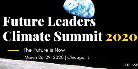 Future Leaders Climate Summit 2020 - Application tickets