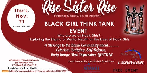 BLACK GIRL THINK TANK EVENT