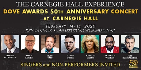 GMA 50th ANNIVERSARY CARNEGIE HALL CHOIR EXPERIENCE tickets