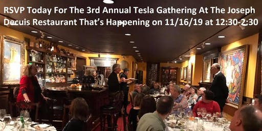 Thailand Lunch - at 3rd Annual Tesla Gathering @ Joseph Decuis Restaurant