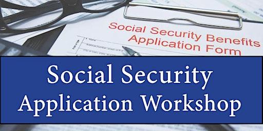 Social Security Application Workshop