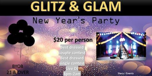Glitz & Glam New Years Party