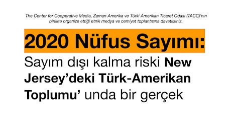 2020 Census: Discussion about risks of undercounting in Turkish community tickets
