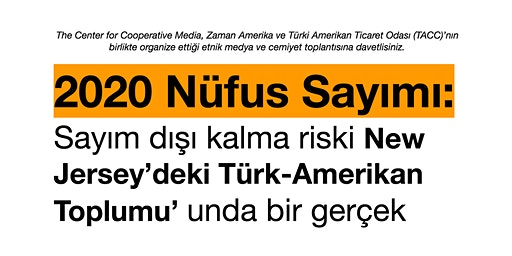 2020 Census: Discussion about risks of undercounting in Turkish community