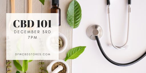 Take a Break From the Holidays with CBD | CBD 101 Class