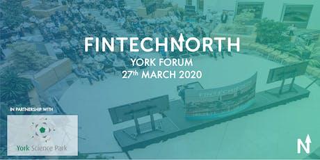 FinTech North York Forum tickets