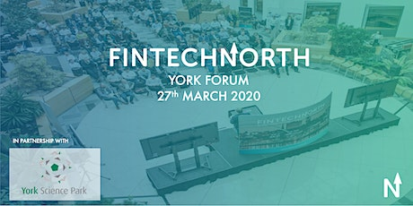 FinTech North York Forum tickets