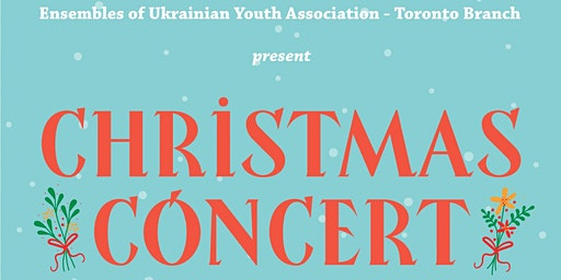 Christmas Concert: English & Ukrainian Carols