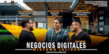 """Ciclo de Conferencias """"Negocios Digitales"""" boletos"""