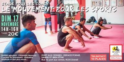 STAGE pour les Coach - Initiation au Mouvement