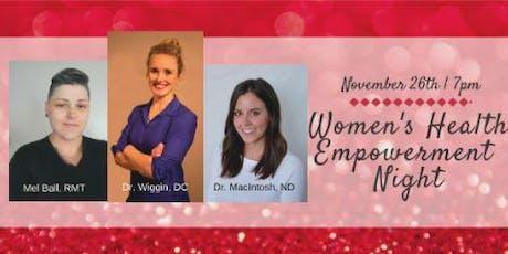 Women's Health Empowerment Night  tickets