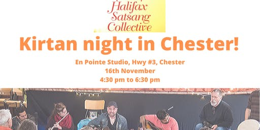 Halifax Satsang Collective - Kirtan night in Chester
