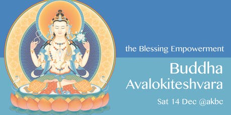 Empowerment of Avalokiteshvara tickets