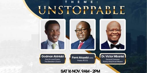Men of Honour conference: Unstoppable