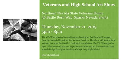 Art Show - Veterans and Local High School Art
