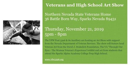 Art Show - Veterans and Local High School Art