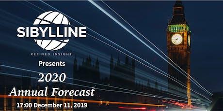 Sibylline's 2020 Annual Forecast tickets