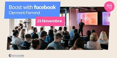 Boost with Facebook avec la CCI Puy-de-Dôme billets
