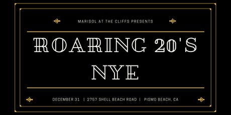 New Year's Eve 2019 Roaring 20's at Cliffs Hotel and Spa tickets