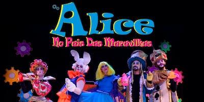 Desconto: Alice no País das Maravilhas, no Teatro Dr. Botica