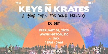 Keys N Krates at Sax (21+) tickets
