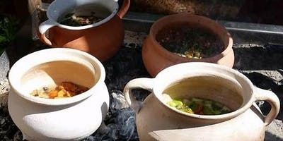 Cooking in clay - create a pottage