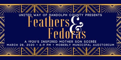 Feathers & Fedoras: A Mother Son Soiree