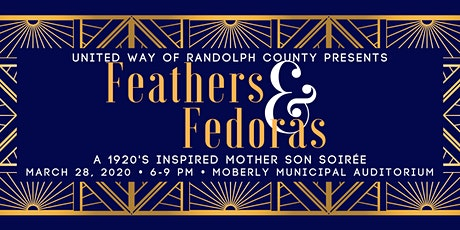Feathers & Fedoras: A Mother Son Soiree tickets