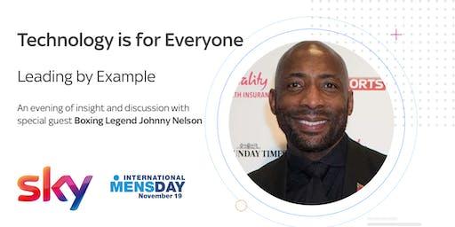 Sky Technology - Celebrating International Men's Day with Johnny Nelson
