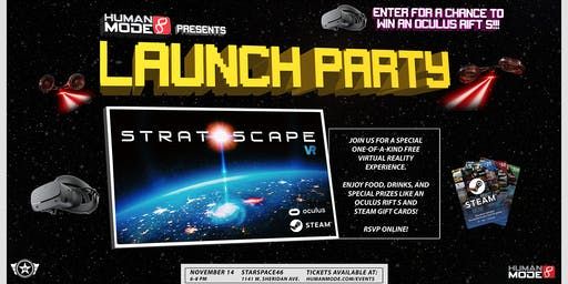 Stratoscape Launch Party
