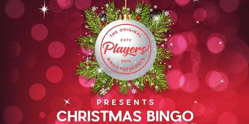 Christmas Players Bingo - Camden Town