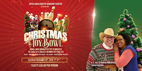 Open Arms United Worship Center Christmas Toy Bowl tickets