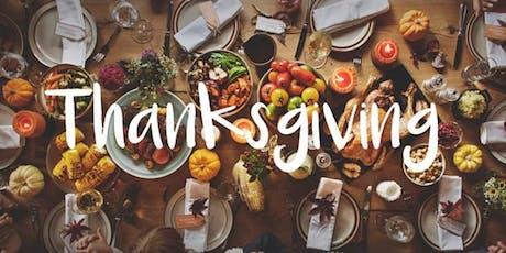 Thanksgiving biglietti