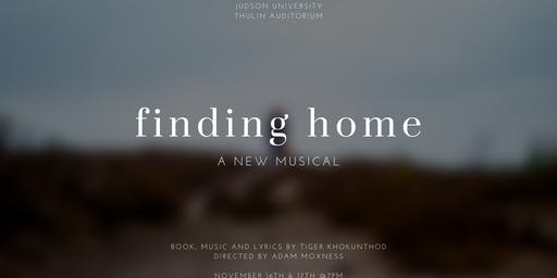 Finding Home: A New Musical