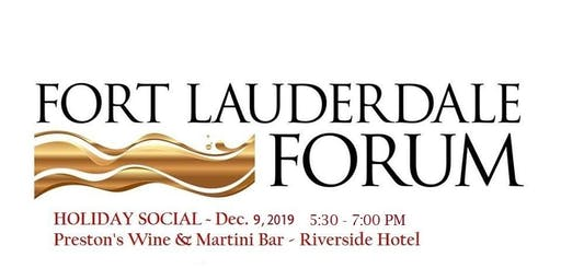 Fort Lauderdale Forum Holiday Social